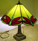 Tiffany stained glass lamp by Mandy Stephens
