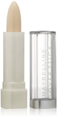 Maybelline New York Cover Stick Concealer, White/Blanc, Corrector, 0.16 Ounce *** Visit the image link more details.