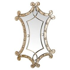 I pinned this Magdalena Wall Mirror from the Maison Maison event at Joss and Main!