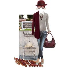 """fall cardigan"" by hcc71 on Polyvore"