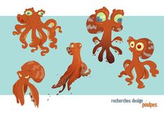 OLIVIER DELABARRE Find more at https://www.facebook.com/CharacterDesignReferences if you ar looking for: #art #character #design #model #sheet #illustration #best #concept #animation #drawing #archive #library #reference #anatomy #traditional #draw #development #artist #animal #animals #fish