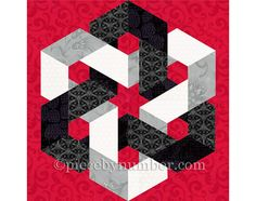 Le modèle de bloc de courtepointe Hexagonia a détaillé les fondations…