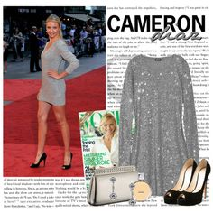 Style Star: Cameron Diaz by itshanilove on Polyvore featuring DKNY, Menbur, Casadei and jared