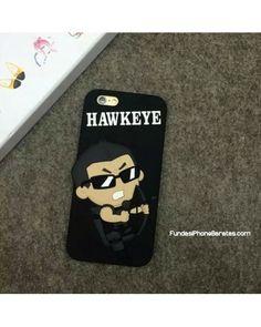 FUNDA IPHONE SUPER HEROE HAWKEYE