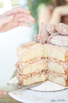 Edible Obsession: Cinnamon Sugar Churro Cake