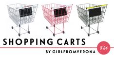 ajoya-sims was in need of a shopping cart for the amazing Target she's building, so I thought I'd recolour sg5150′s shopping cart conversion for her. It comes in 3 variations: Woolworths, Target, and Dollar General. Although not pictured, I have included the overturned and tipped versions as well.DROPBOX | SIMFILESHAREUnfortunately I don't know how to add slots so if you want to put things in the cart, you will need to turn on the moveobjects cheat and use 9 (or ctrl+9) to move things up…