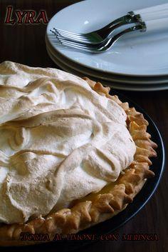 Torta al limone con meringa cookaround