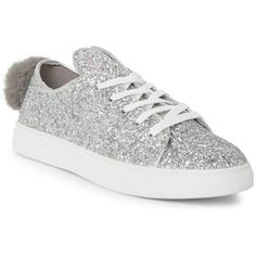 71ea61b9889 Silver Cala Glitter Bunny Low Top Sneakers - Century 21