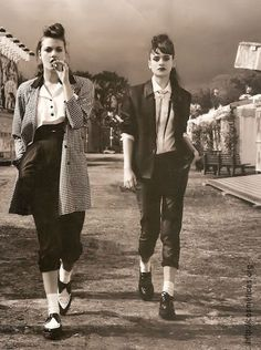Love teddy girl style but a bit more casual.