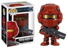 Spartan Warrior (Red Version) 04 Pop! Halo Vinyl Figure