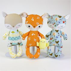 Fox Baby PDF Doll Pattern