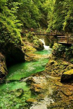 Vintgar Gorge, Triglav National Park ... Slovenia
