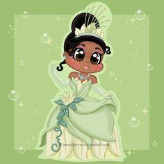 Super cute fan art of Tiana by JennifairyW art
