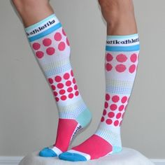 Our graduate compression socks are CE, FDA and GMP certified for quality assurance. Features include; 20-30mm-Hg of compression, improved at...