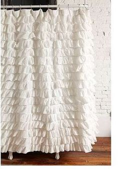 Waterfall Ruffled Fabric Shower Curtain (White) spring Home https://www.amazon.com/dp/B01A7TRH3G/ref=cm_sw_r_pi_dp_x_f2mQybXW131EJ