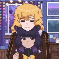 Rwby Fanart, Rwby Anime, Manga Art, Anime Art, Rwby Characters, Fictional Characters, Rwby Bumblebee, Rwby Ships, Blake Belladonna