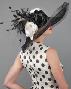 by LOUISE GREEN MILLINERY #HatAcademy #millinery