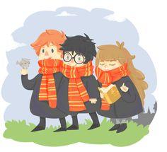 HP trio - ladycrookshanks