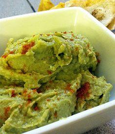 Avacado hummus - looks delish