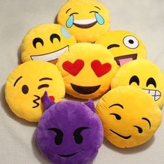 NEW EMOJI PILLOWS! BRAND NEW! Super Soft :) Will ship same day! After purchasing the listing, let me know which pillow you want. $15 each. Other