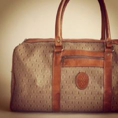 FOR SALE- LaFemme Vintage VINTAGE YSL Oversized Speedy Satchel. The perfect weekender bag. Classic and timeless $140