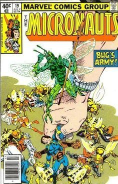 Micronauts Comics, Book Art, Favorite Comic, Comic Books, Micronauts 19, Marvel Comics, Comic Covers, Book Covers