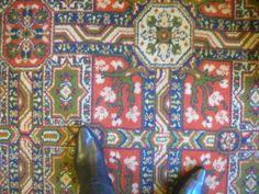 'The Prince Edward' From Marmaduke Dando's study of London pub carpets