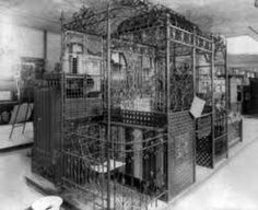 The first machine like elevator was invented in 1853, by Elisha Otis. It was invented to carry heavy things up and down a building. It has changed the world because now it used not only for heavy things, but for humans to get up and down the buildings too.