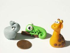 Miniatures animals. N'hi ha més al link---  the chameleon!!!  ^_^