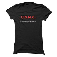 USMC Funny T-Shirts, Hoodies (19$ ==► Shopping Now to order this Shirt!)