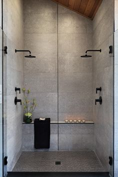Bathroom Spa Design Zen 15 New Ideas Spa Bathroom Design, Spa Design, My Home Design, Bathroom Spa, Grey Bathrooms, House Design, Bathroom Ideas, Design Ideas, Bathroom Organization
