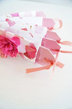 DIY Valentines gift made out of toilet paper rolls!