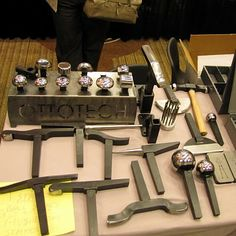 During the SNAG (Society of North American Goldsmiths) conference I frequented the vendors' rooms and investigated new tools on the market. Metal Working Tools, Metal Tools, Work Tools, Wood Working, Forging Tools, Blacksmith Tools, Metal Projects, Metal Crafts, Ideas Para Inventos