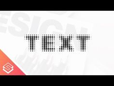 Inkscape Tutorial: Halftone Text - YouTube
