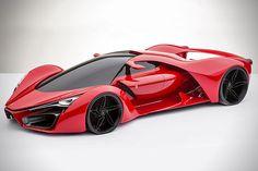 Ferrari F80 Supercar Concept 1. Me want. Me want!  #ferrari