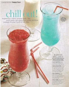 4th of July Summer Drink Recipes