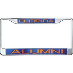 Product: University of Florida Alumni License Plate Frame