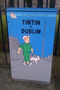 Tintin in Dublin by Grainne Tynan