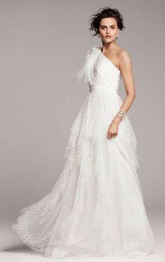 REVEL: Polka Dot Wedding Gown
