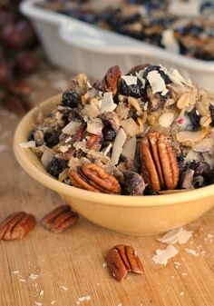 Blueberry Coconut Baked Oatmeal 1