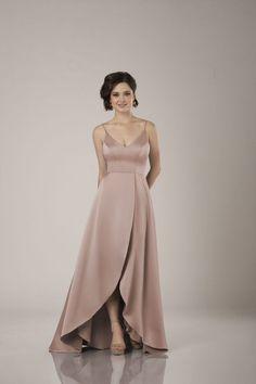 Blush Bridal, Bridesmaid Dresses, Bridesmaids, Gowns, Formal, Tulip, Bodice, Silhouette, Skirt