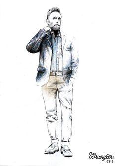 #SS13 #men #collection #wrangler #denim #inspirational #style #fashion