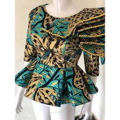 Amazing ankara designs for ladies - DarlingNaija African Maxi Dresses, Latest African Fashion Dresses, African Dresses For Women, African Print Fashion, African Jumpsuit, African Attire For Ladies, African Blouses, African Traditional Dresses, Ankara Designs