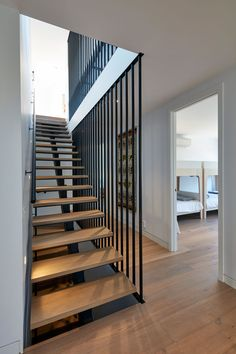 Blairgowrie Beach House by DX Architects - Blairgowrie Beach House by DX Architects - Home Stairs Design, Railing Design, Loft Design, House Design, Loft Interior, Interior Stairs, Interior Design, Modern Architecture House, Residential Architecture