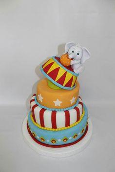 Torta Circo 100 % Comestible.