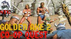Co-Op Quest: Golden Axe 2- Sega Megadrive (The Shark & Maelstrom)