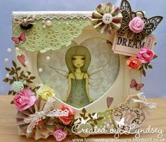 Santoro Mirabelle Paper Craft Project by Crafty Blonde