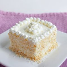 Coconut Frenzy Cake (Low Carb and Gluten Free) | I Breathe I'm Hungry