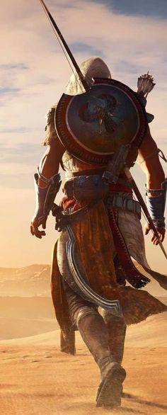 Papel dre parede grátis de jogos - ogo Assassins Creed Origins.