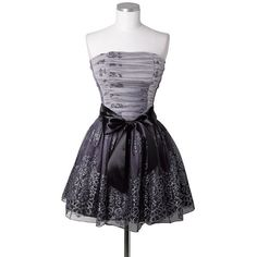 Glitter Tulle Dress ($20) ❤ liked on Polyvore